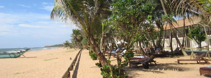 Пляж отеля Pandanus Beach Resort в Индуруве